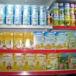 Молочные смеси при запорах